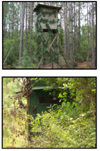 Camo Hunting Blinds and Stands