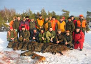 Successful Hog Hunters