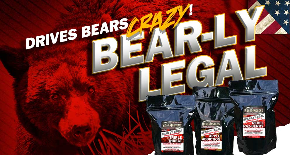 Boarmasters Bear-ly Legal Bear Bait Attractants