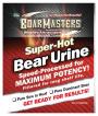 Boarmasters Super Hot Bear Urine Label